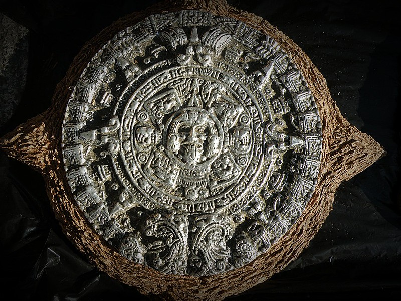 Calendario solar azteca Xíhuitl