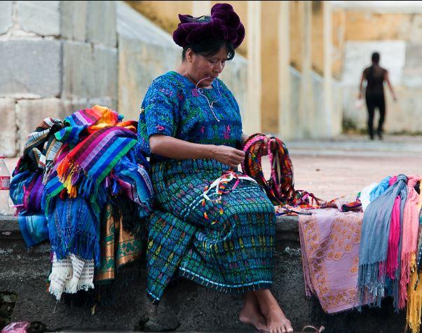 Vestimenta Maya