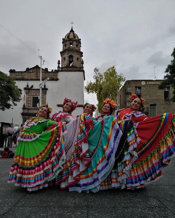 Traje tipico de mexico mujer
