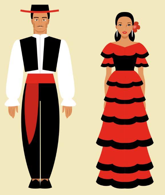Vestimenta española