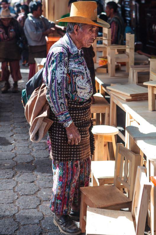Vestimenta Maya hombre