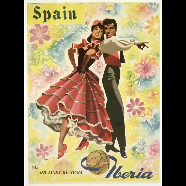 Vestimenta española dibujo