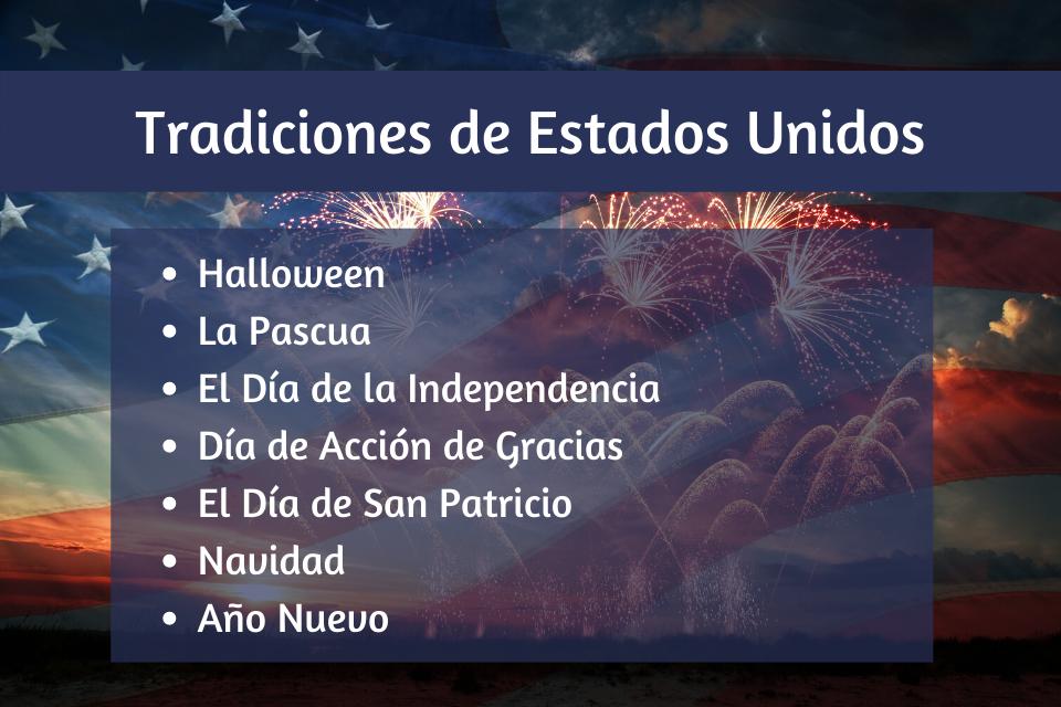 Tradiciones de Estados Unidos