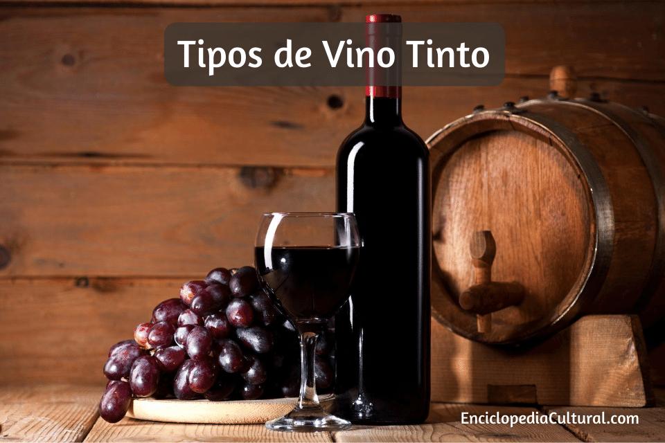 Tipos de vino tinto