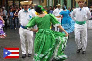 Traje típico de Puerto Rico