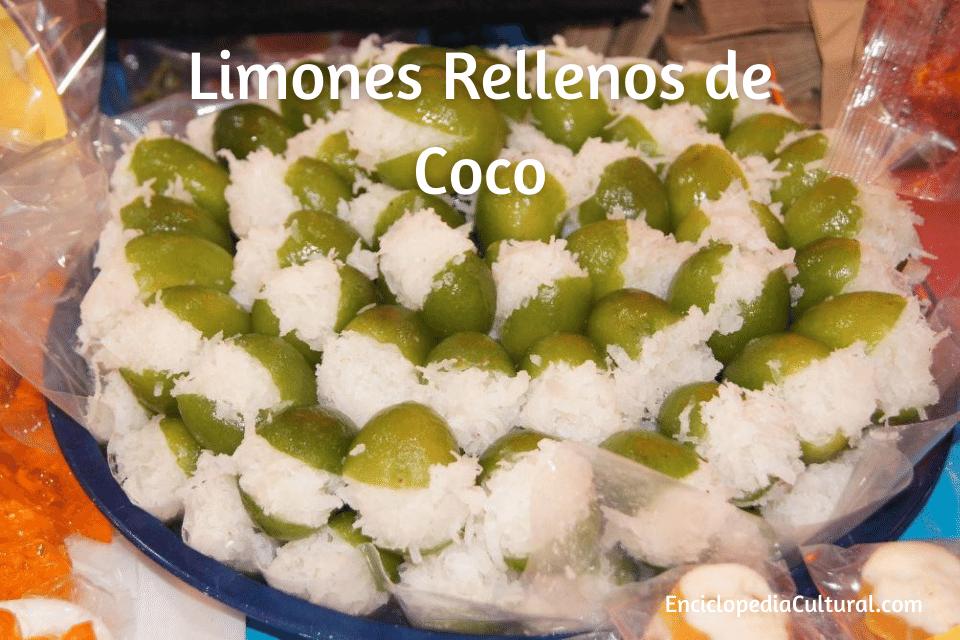 Limones Rellenos de Coco